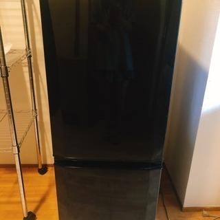 【美品】冷蔵庫 MITSUBISHI MR-P15X-B
