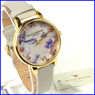 [新品] [数量限定] オリビアバートン 腕時計 白色 ホワイト ...