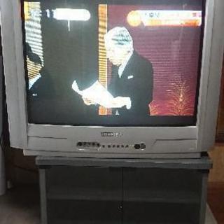 ブラウン管テレビ(地デジチューナー付き)29型