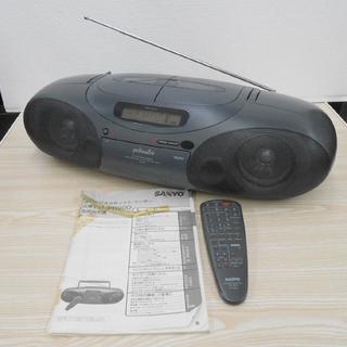 SANYO サンヨー CD ラジオ カセット レコーダー PH-...