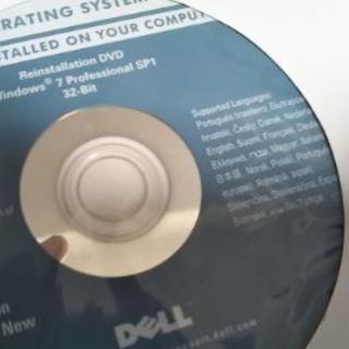 【断捨離】新品DELL Windows OSディスク - パソコン