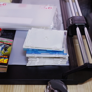 パナソニック DVD RAM 等の空のケース