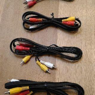 RCA端子4本セット