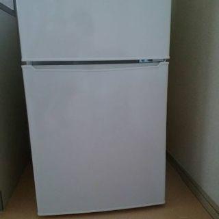 冷蔵庫(冷凍庫付・二段式) (中古美品)2017年製