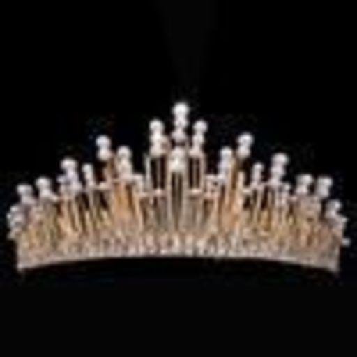 22a5c161c29d5 7ディース アクセサリー ヘアアクセサリー ティアラ 結婚式 ウェディング 花嫁 『令 和』天皇陛下 雅子妃殿下 ティアラを買いましょうね?