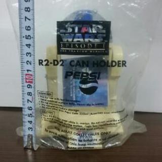 スターウォーズ R2-D2 缶ホルダー 未開封品 ペプシ