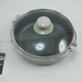 ※未使用品※ 鍋焼きうどんなべ (18センチ) すき焼き、鍋焼き...