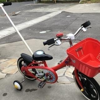 ミッキーマウス 幼児用自転車