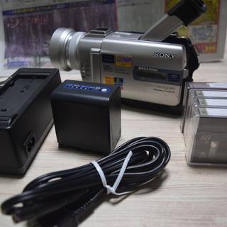 SONY Mini DVビデオカメラ<ジャンク品><値下げ500...