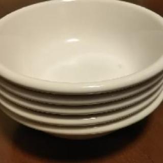 ほぼ未使用✨白いサラダボール5個