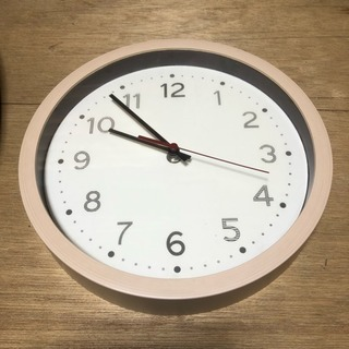 お取引中 壁掛け時計 25cm 動きます