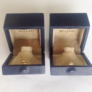 【ブルガリ】指輪ケース&箱 2個セット
