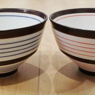 茶碗 2個セット 丸井 in the room