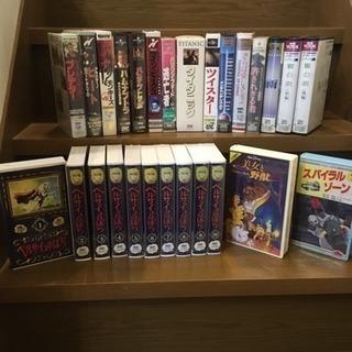 VHSビデオ★懐かしの映画、アニメなど色々!