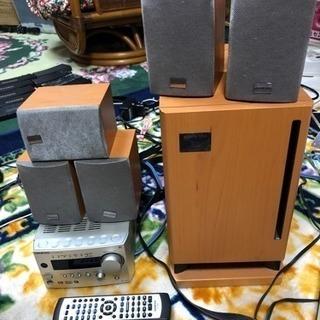 5.1chサラウンドシステム ONKYO PR-155X