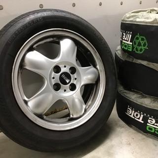 【BMW】純正ミニタイヤホイールセット4本