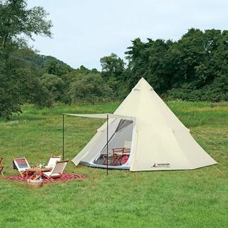 【1度だけ使用】キャンプ、テント、キャプテンスタッグ(CAPTAI...