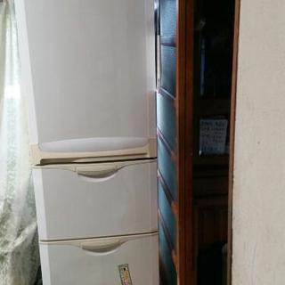 0円 スリードア冷凍冷蔵庫 365L