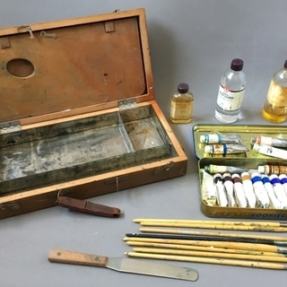 取引終了・【中古画材】油絵具とペインティングオイルなど