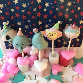 ケーキポップス教室 Cotton Sugar 1dayレッスン作品ご紹介 − 神奈川県