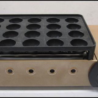 新生活!3780円 ガス たこ焼き器 20穴 カセット グリル ...