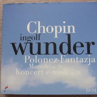 インゴルフ ヴンダー ショパン ピアノ2枚組 ワルシャワで購入