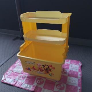 【売り切れました】くまのプーさん お片付けマルチボックス