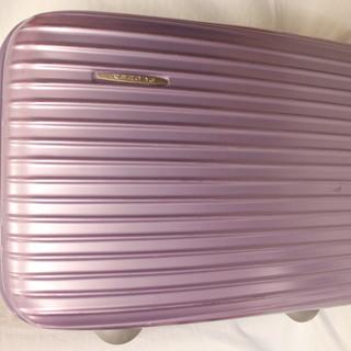 nenova スーツケース 中型 紫色 難あり