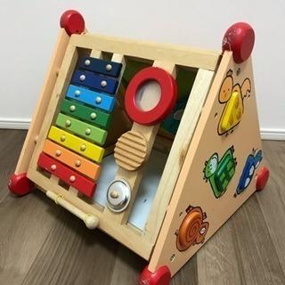 木製知育玩具 I'm TOY 指先レッスンボックス