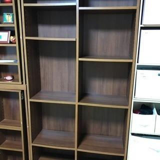 本棚×1、CD・漫画等収納×2