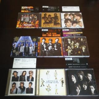 KAT-TUN CD DVD 9点セット