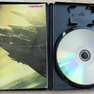 ☆PS2/ACE COMBAT 5 THE UNSUNG WAR エースコンバット5 ジ・アンサング・ウォー◆激戦の空、究極のエースパイロット体験 - おもちゃ