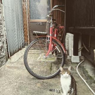 自転車 昭和レトロ 郵便配達員
