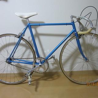 競輪用自転車(前後ブレーキ付き)