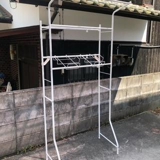 洗濯機ラック パイプ