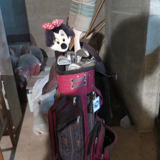 女性用ゴルフ道具1式