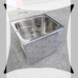 先着★ステンレス浴槽★ペットの飼育~畑の水溜に★現場撤去品