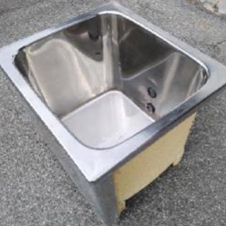 先着★ステンレス浴槽★ペットの飼育~畑の水溜に★現場撤去品 - その他
