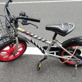 子供用自転車 16インチ 中古(キョーリュウジャー)