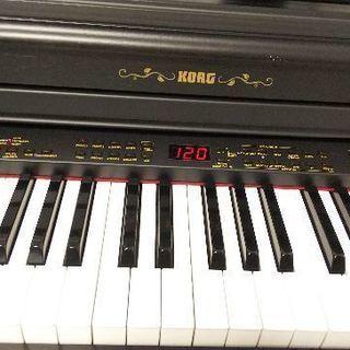 (取引中)電子ピアノ KORG 専用イス付き