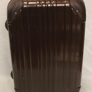 濃い茶色 中型 スーツケース