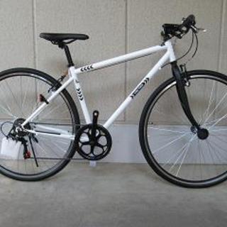 〔格安新品〕クロスバイク・シークレットコード700(シマノ製外装...