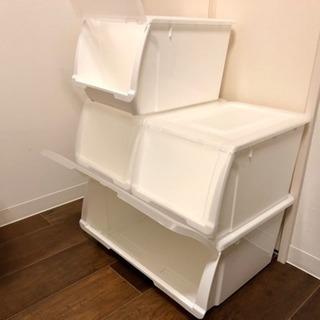 ニトリの収納ケース、無料で差し上げます。