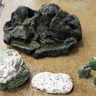 アクアリウム 石 いろいろ