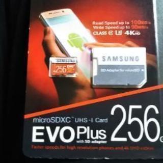 【特別価格】③新品 Samsung SDカード256GB