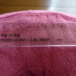 平成29年度白川小1/2成人式記念 定規