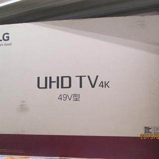 LG 4Kテレビ 49インチ 49UJ6500