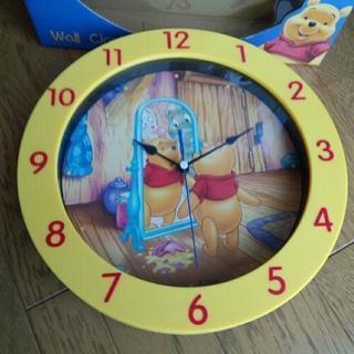 Disney くまのプーさん 掛け時計