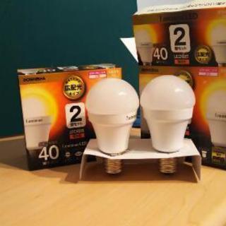 LED電球【電球色40W相当】E17(小さい方)