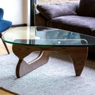 イサム・ノグチ ガラステーブル